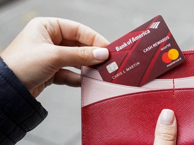 bank of america cash rewards visa signature