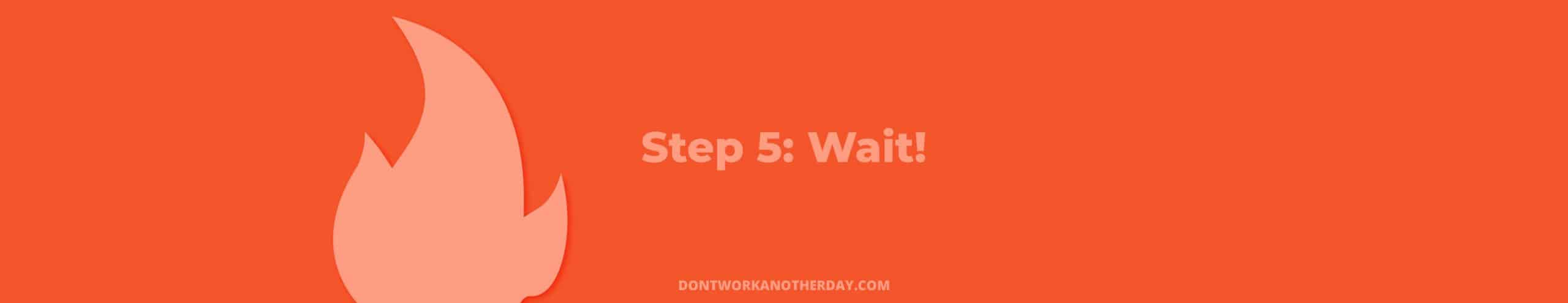 Financial Independence Retire Early Step 5
