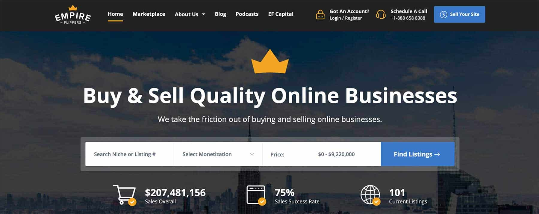 Sell Website on Empire Flippers