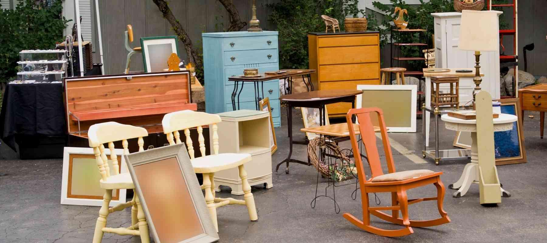 Flea Market Flipping Furniture