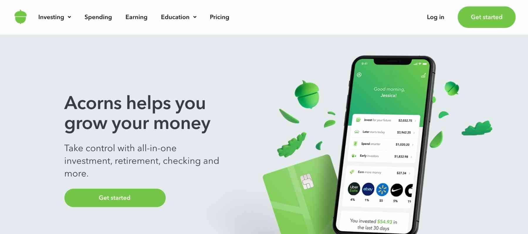 Best Passive Income Apps - Acorns