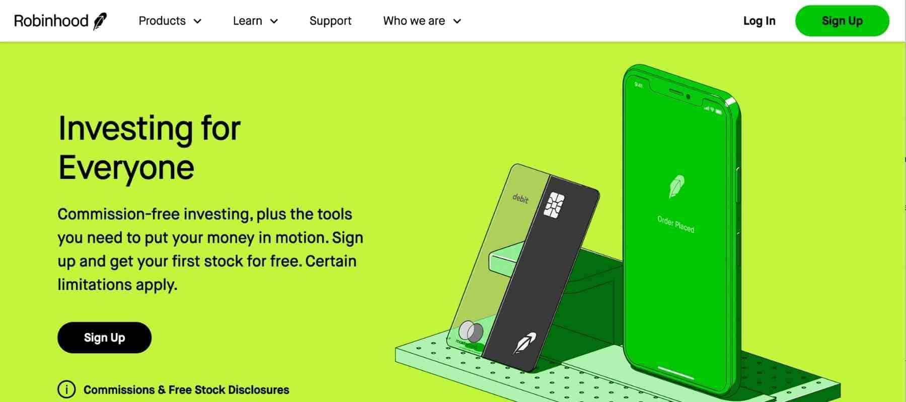Best Passive Income Apps - Robinhood