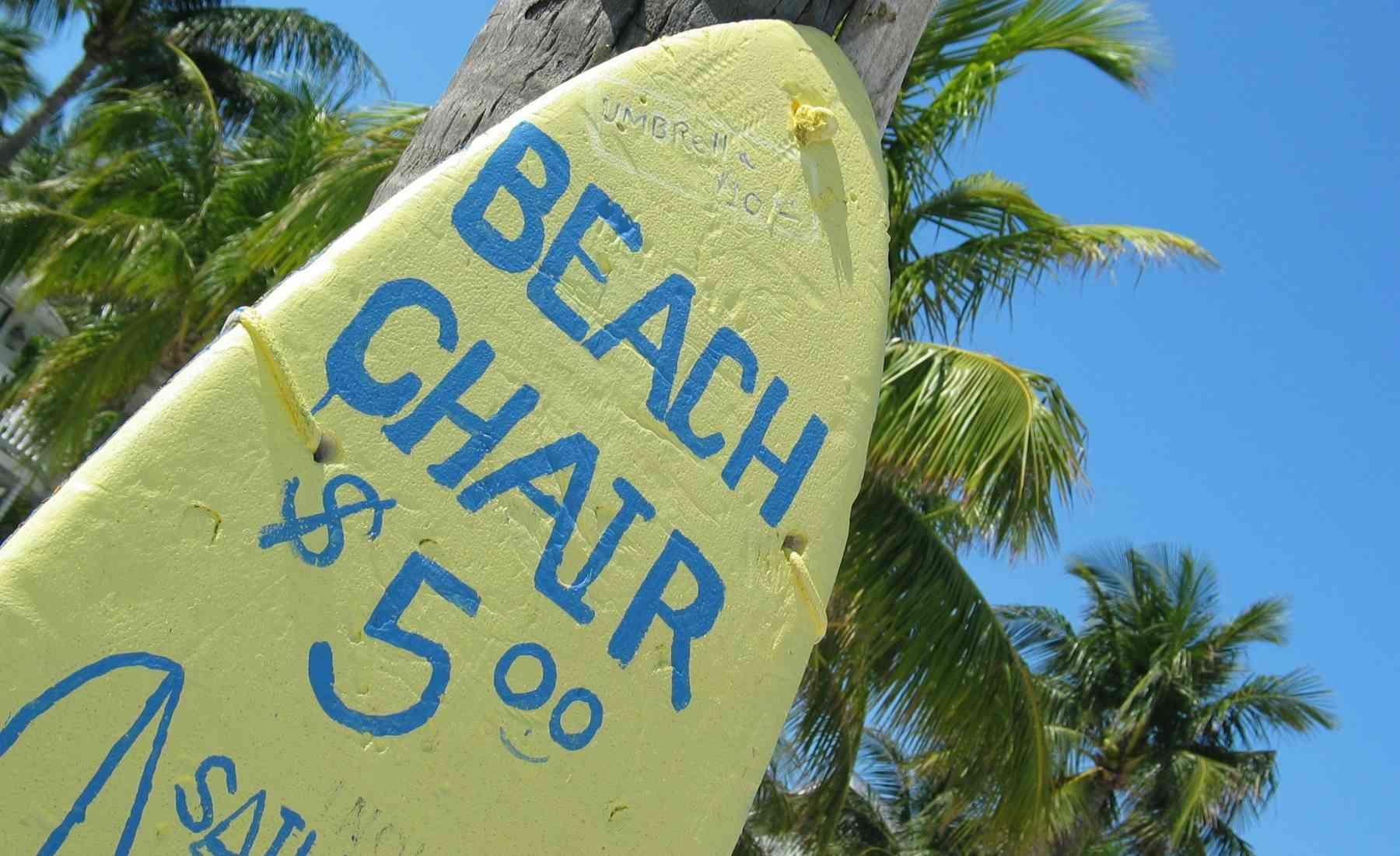 Rental Business Ideas - Beach Chairs