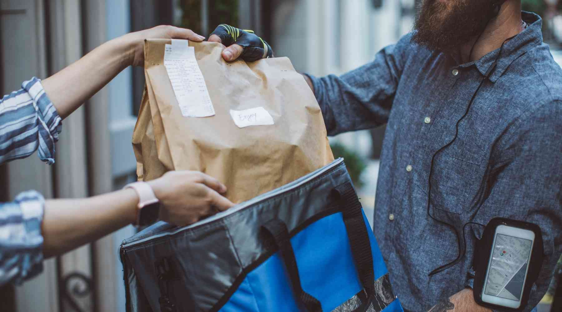 How to Make $50 a Day - Food Delivery