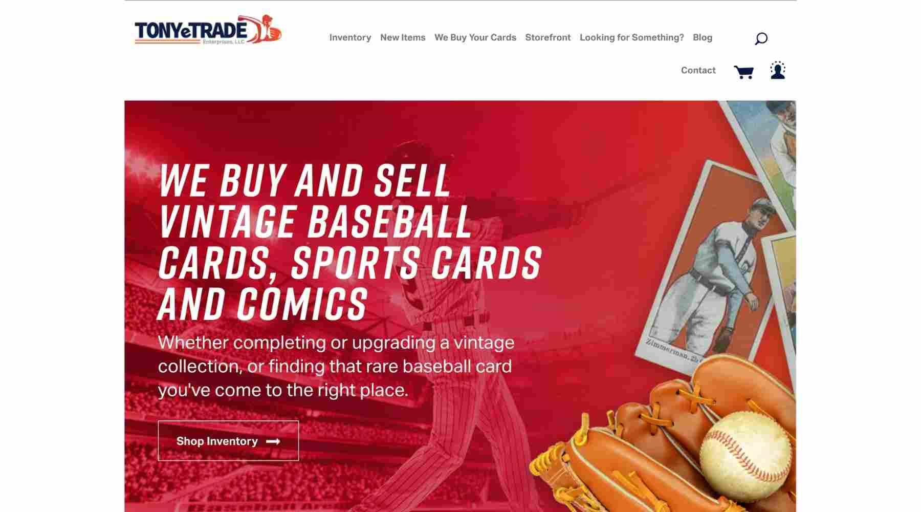 Sell Sports Cards - TonyeTrade